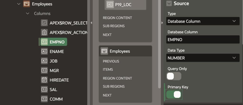 Set PK for detail table.