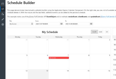 Calendar region Date Selected DA and highlight date selection using Javascript